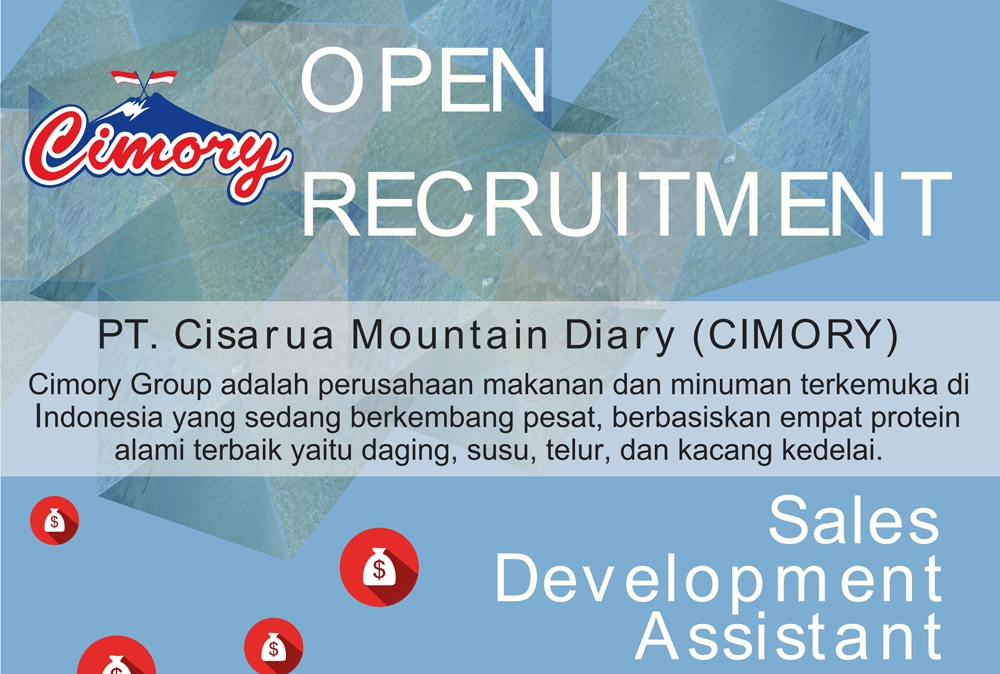 Open Recruitment Lowongan Kerja Di Cimory Indonesia