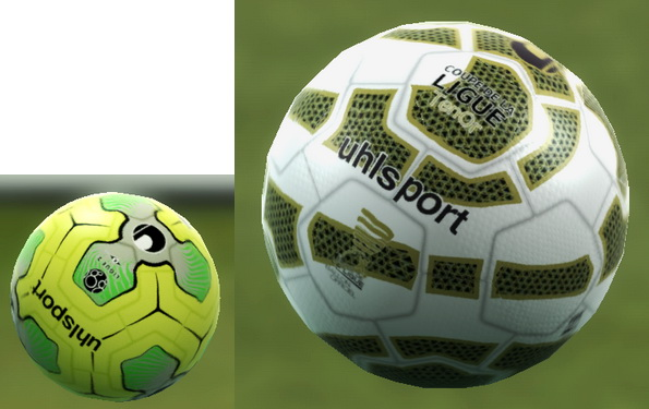 PES 2013 Uhlsport Ligue 2 16-17 & Uhlsport Coupe de la Ligue TenOr 2016 Ball By Goh125