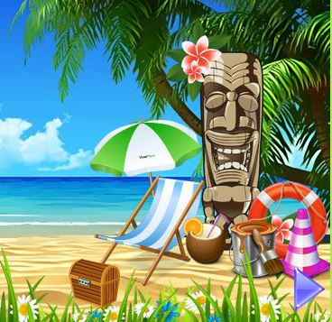 YolkGames Tiki Beach Escape
