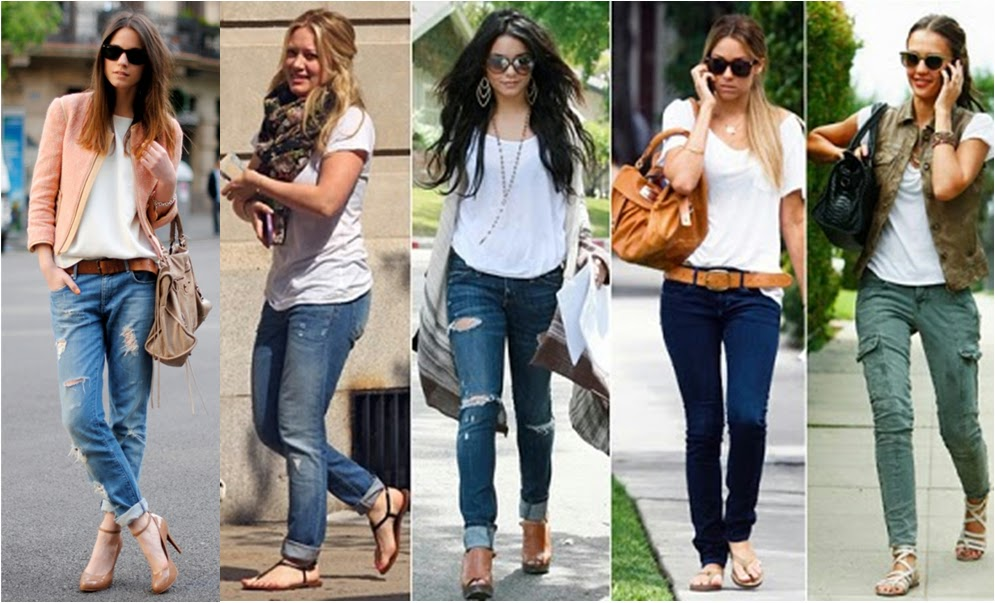 4f6773a1034a7 Oi meninas, hoje vamos falar sobre como usar calça jeans, você sabe qual o  melhor modelo de calça jeans para o seu corpo  A calça jeans nunca sai de  moda e ...