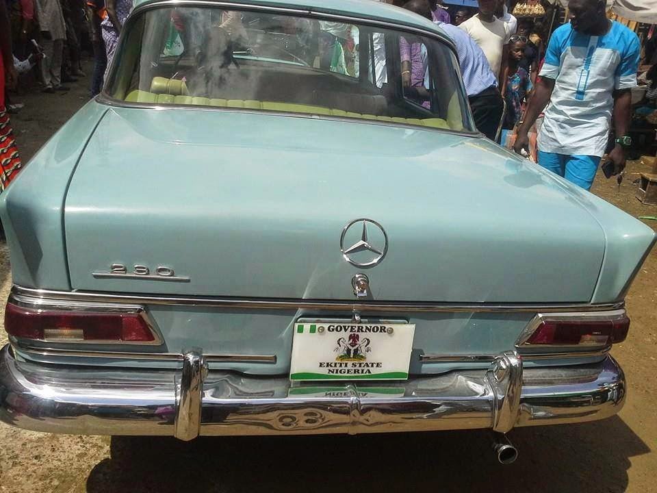 fayose N7.4 antique car