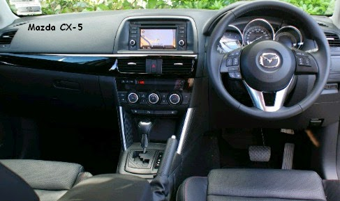 dashboard mazda cx-5
