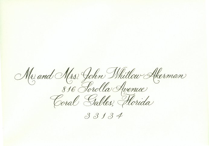Wedding Invitation Outer Envelope: It Should Be Exactly As You Want Because...It's Your Party