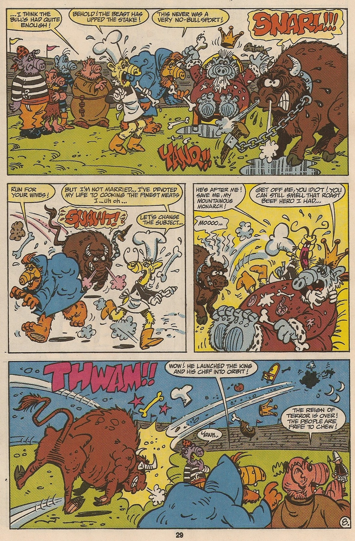 Read online ALF comic -  Issue #47 - 30