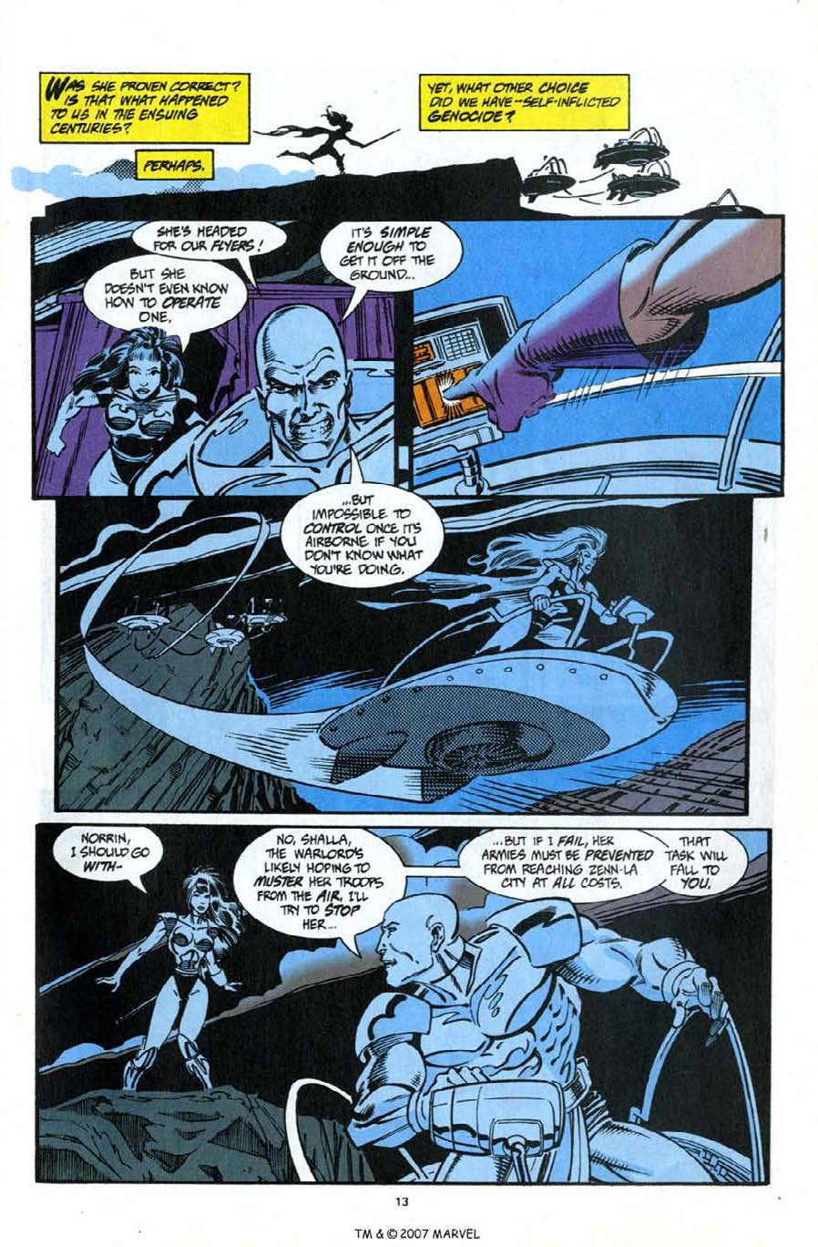 Read online Silver Surfer (1987) comic -  Issue #92 - 15