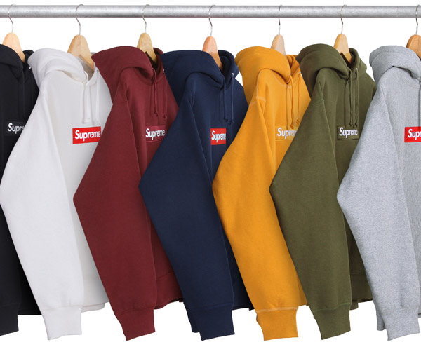 Supreme brings back the traditional box logo hoodies just in time for the  winter season and in seven diffrent colorways. Staying true to their brand ee4158add8