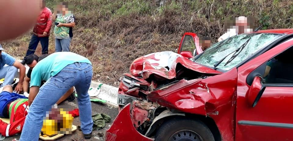 Morre a segunda vítima do acidente na rodovia que liga Jacutinga a Albertina