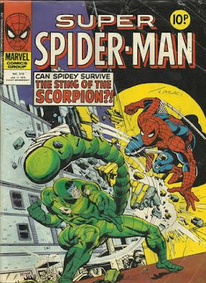 Super Spider-Man #310, the Scorpion