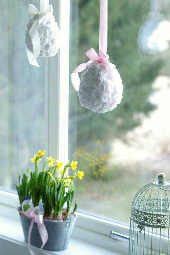styropianowe jajka dekoracje