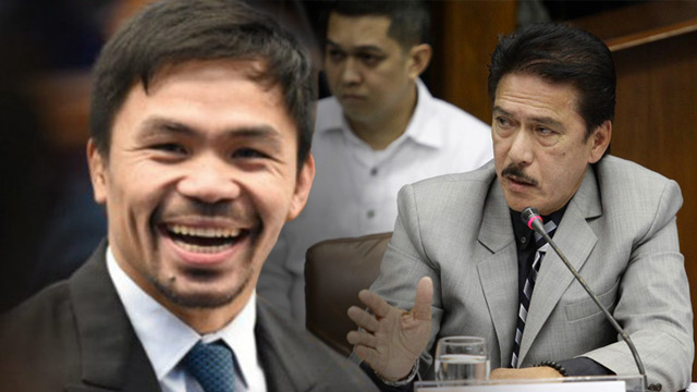 Sotto, Pacquiao congratulate PNP on drug war stats