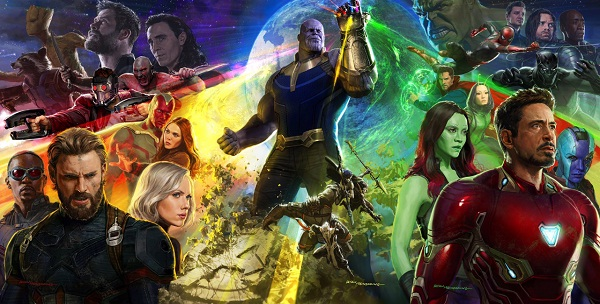 film april 2018 avengers infinity war