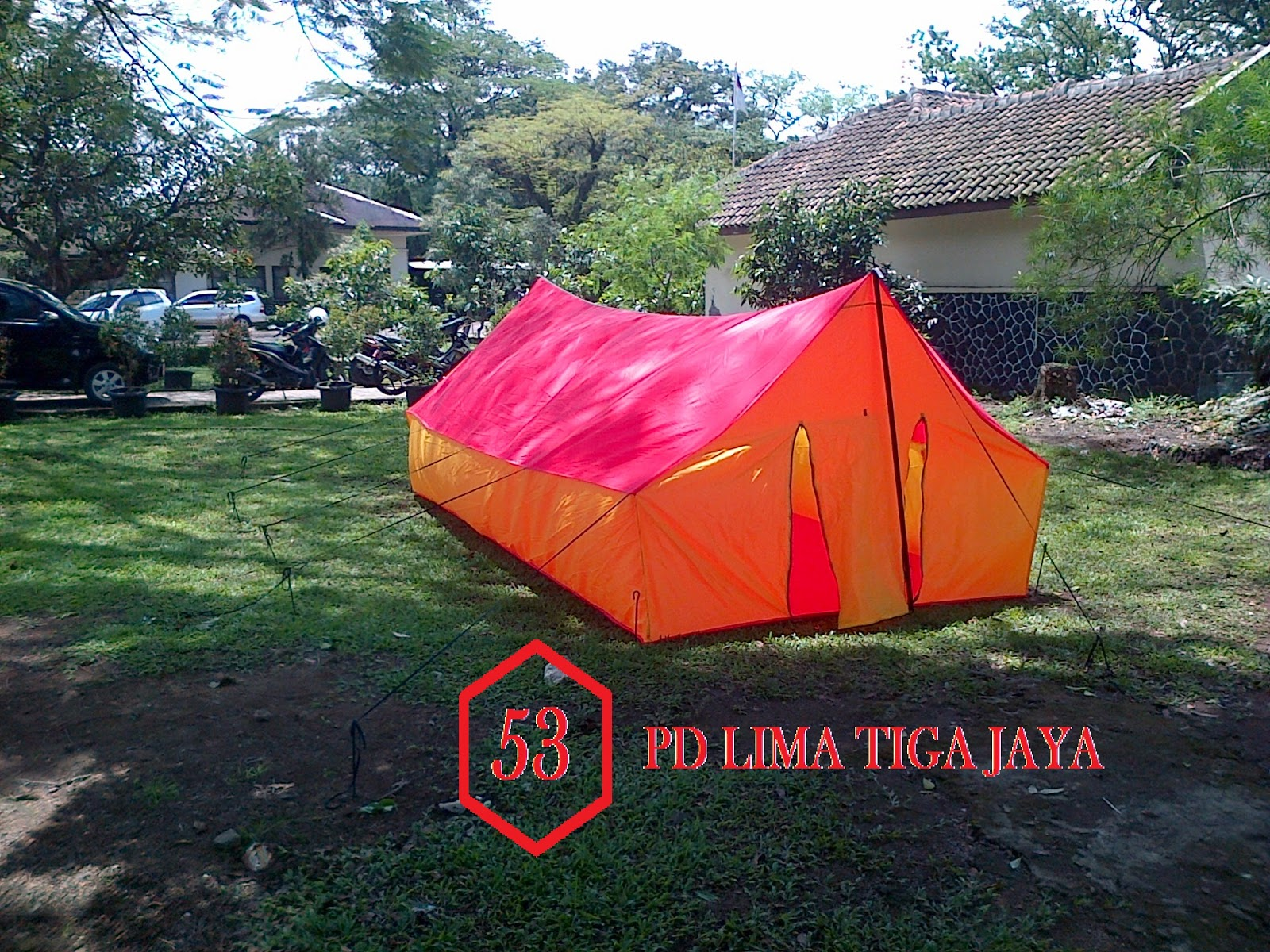 jual tenda pramuka murah bandung , pusat tenda murah bandung