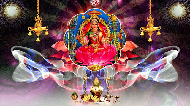 Best Lakshmi Puja Full Size  Wallpaper For Desktop