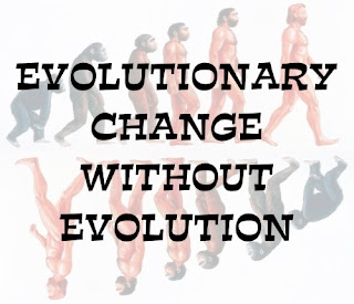 Evolutionists are invoking non-evolutionary change as support of evolution, and doing it in some jaw-droppingly bad ways.