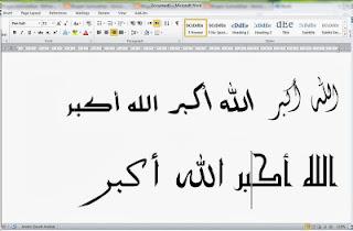 950 Kumpulan Font Arab Lengkap
