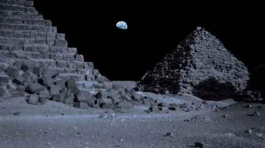 Pirámides y estructuras alienígenas en la Luna: Un encubrimiento como ningún otro!