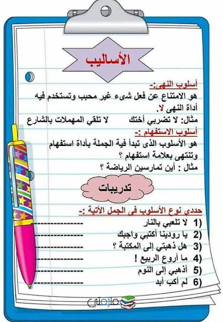 قواعد بسيطة فى اللغة العربية للأطفال