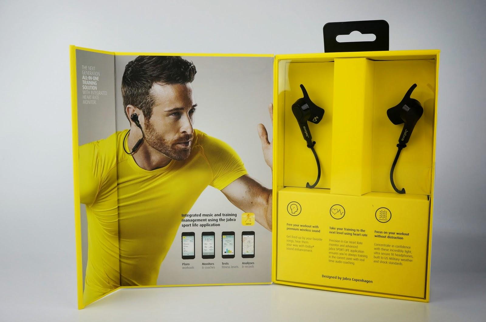 [開箱] 耳機進化偵測心跳 Jabra Sport Pulse Wireless 運動型藍芽耳機