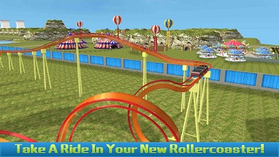 Roller Coaster Game Construction SIM Mod Apk