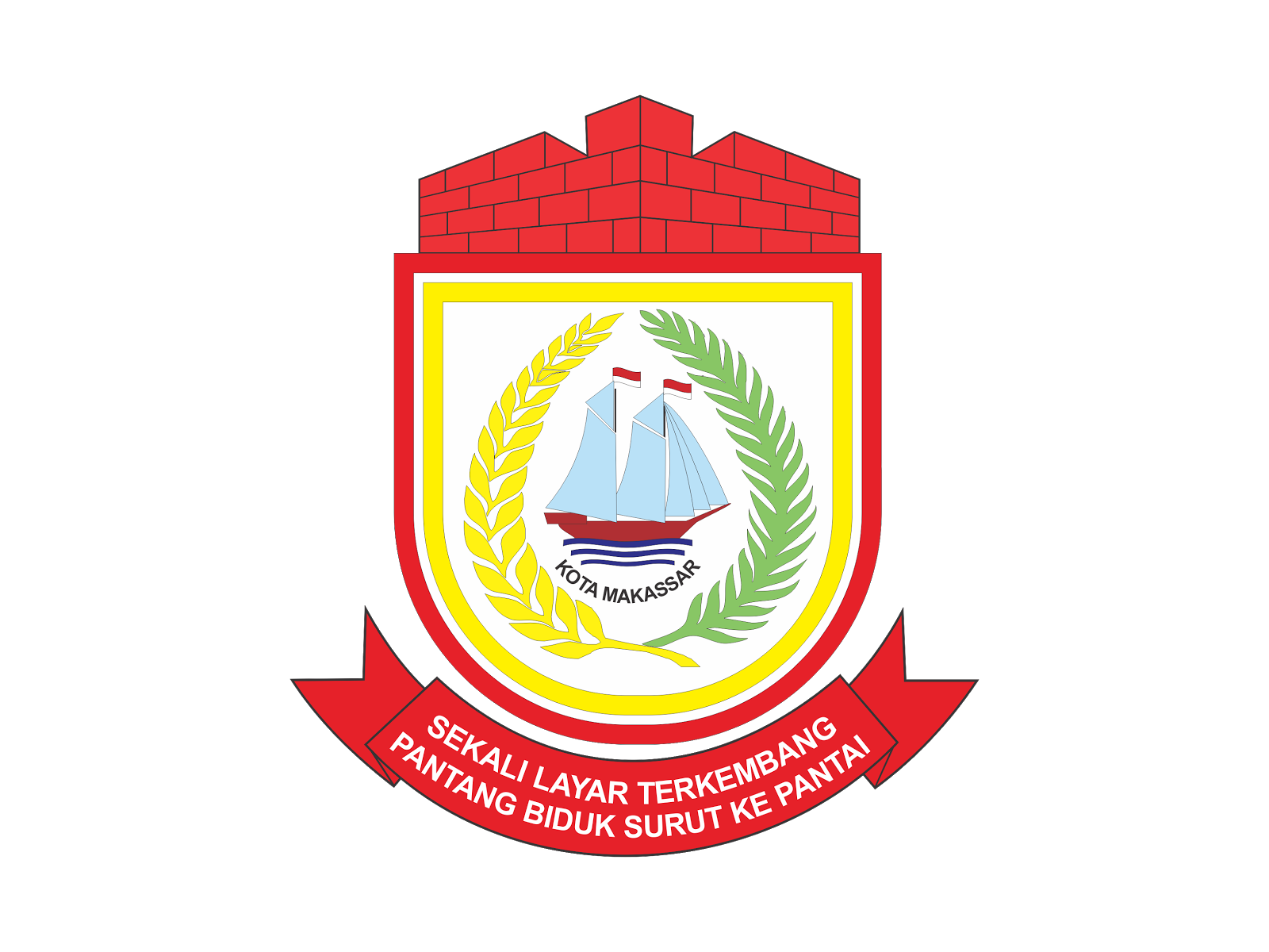Logo Kota Makassar Vector Cdr Png Hd Biologizone