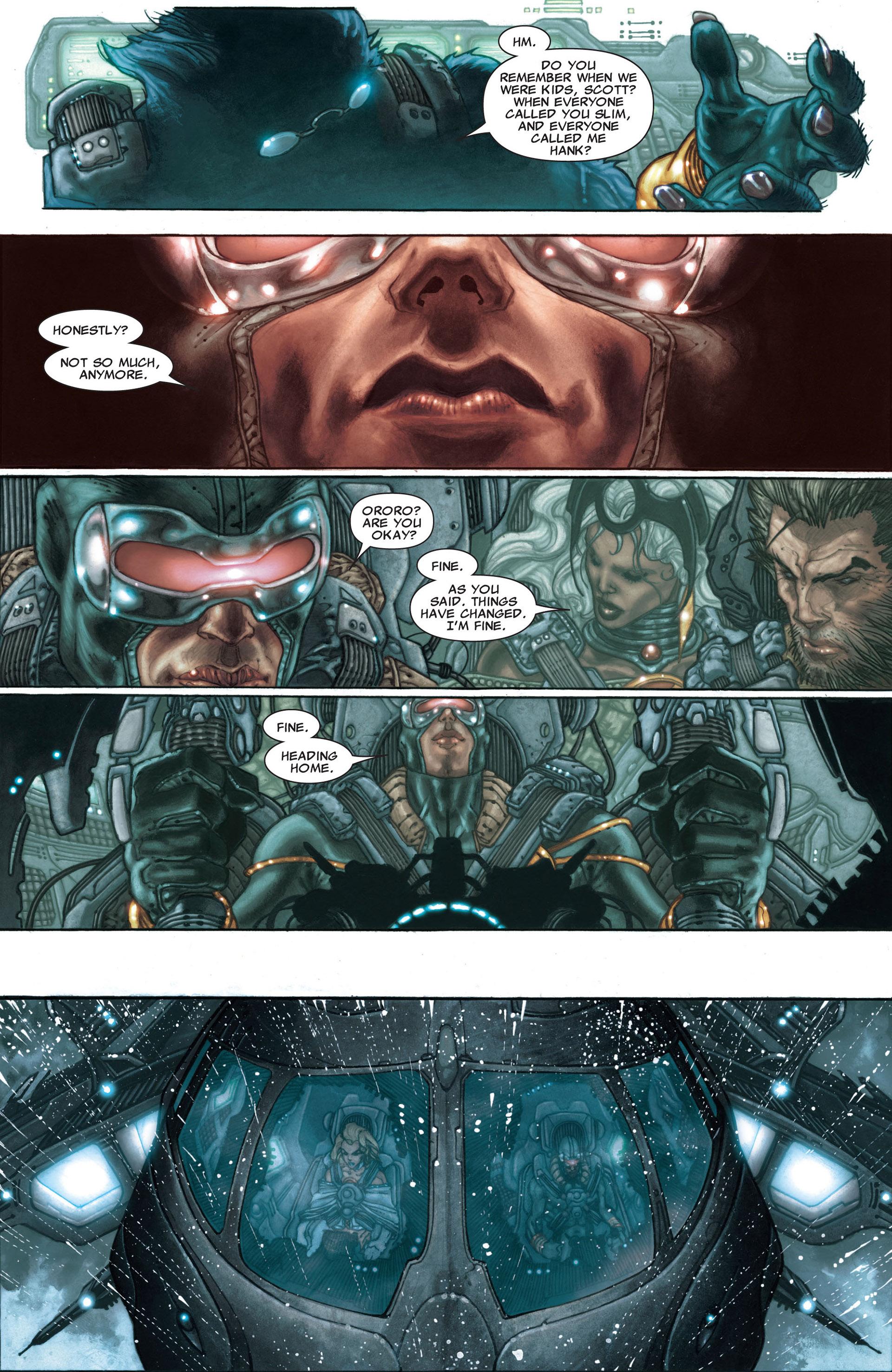 Read online Astonishing X-Men (2004) comic -  Issue #30 - 22