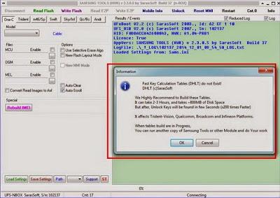 Download File DHT Samsung Buat UFS HWK