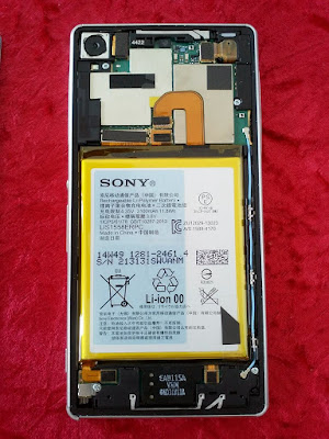 Sony Xperia Z3 por dentro
