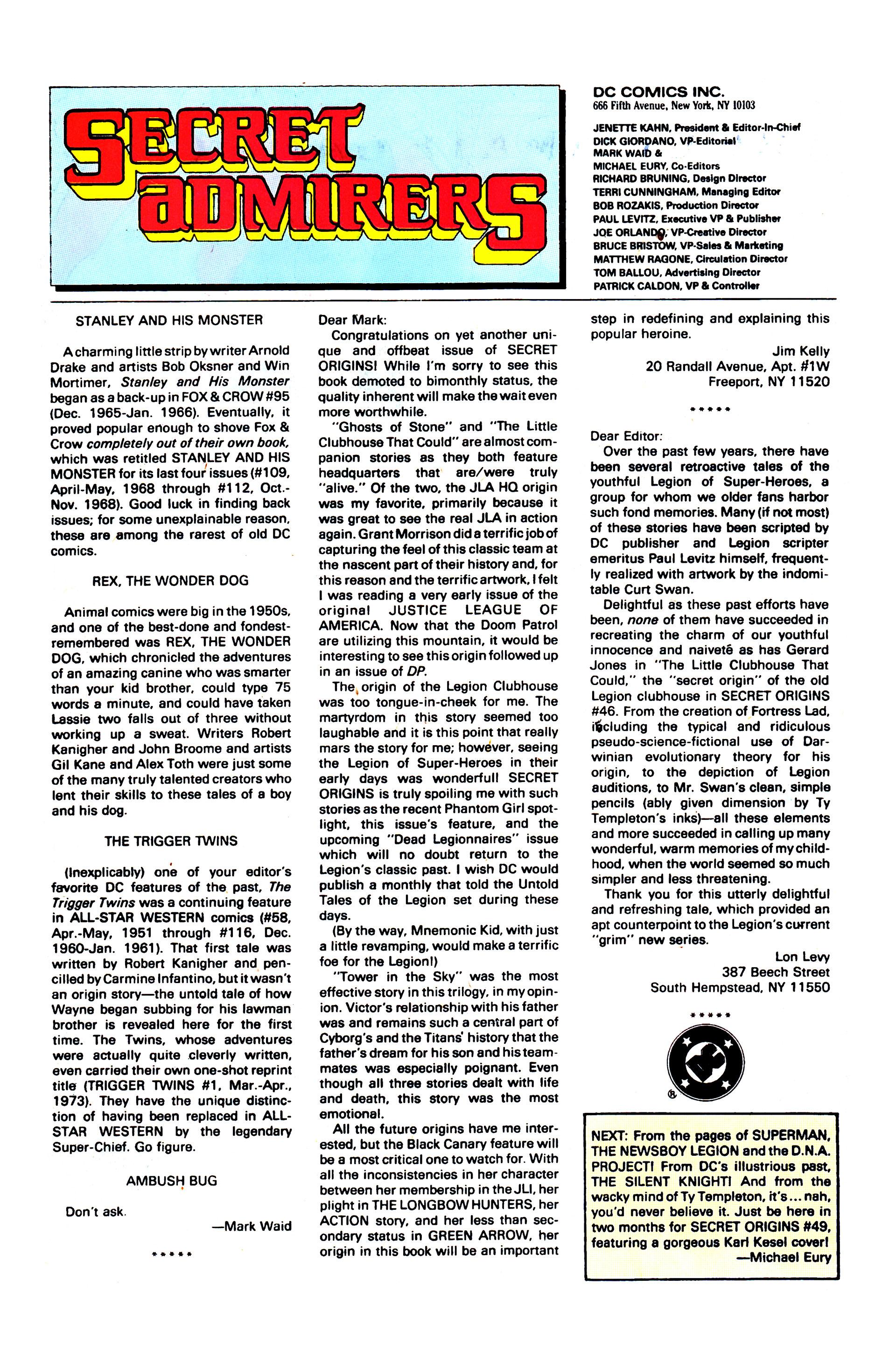 Secret Origins (1986) issue 48 - Page 35