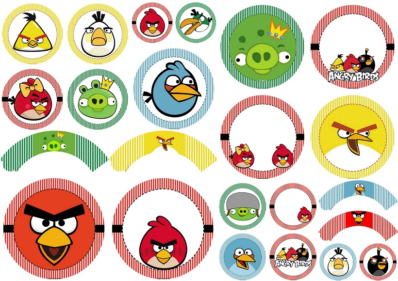 angry birds free printable wrappers and toppers oh my fiesta
