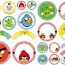 Angry Birds: Wrappers y Toppers para Cupcakes para Imprimir Gratis.