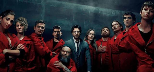 Netflix confirma o início das filmagens da última temporada de 'La Casa de Papel'