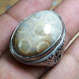 Cincin Batu Permata Teratai - ZP 671