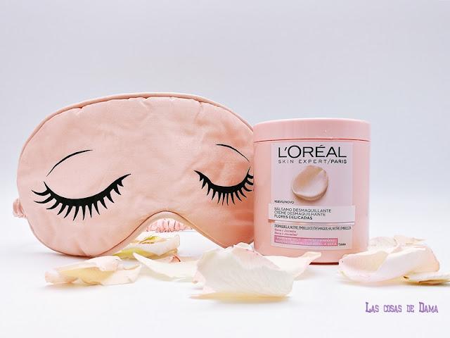 L'Oréal Flores Delicadas lorealskin limpieza facial desmaquillante derrite el maquillaje beauty skincare belleza