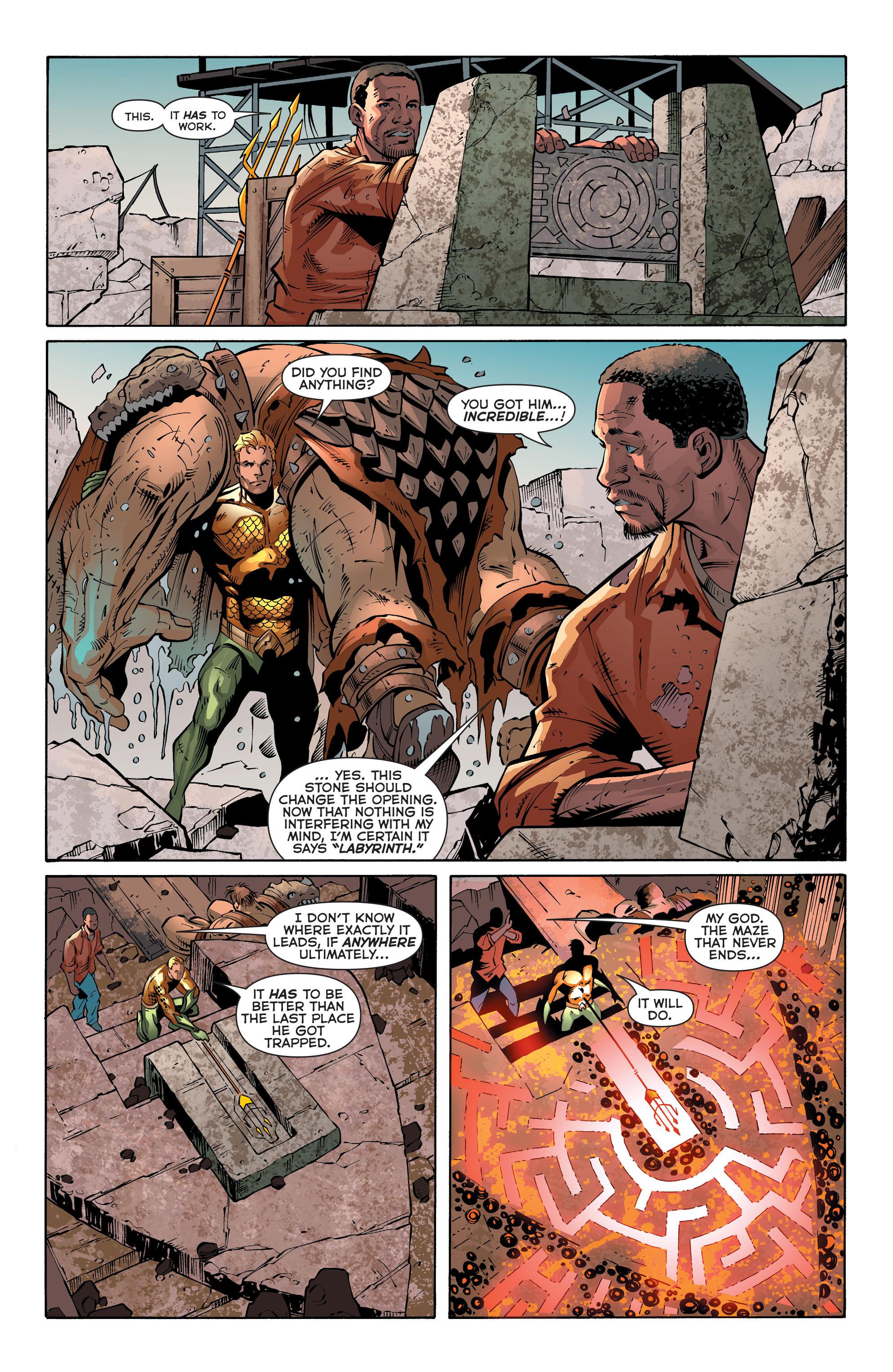 Read online Aquaman (2011) comic -  Issue #30 - 18