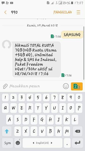 Beberapa provider internet di Indonesia saat ini lagi gencar Tutorial Dapat Kuota 7GB Gratis Indosat Ooredoo Terbaru