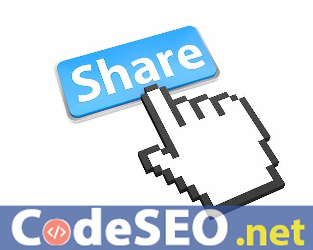 Code Chèn Nút Chia Sẻ bài Viết lên Mạng Xã Hội cho Blogger Blogspot