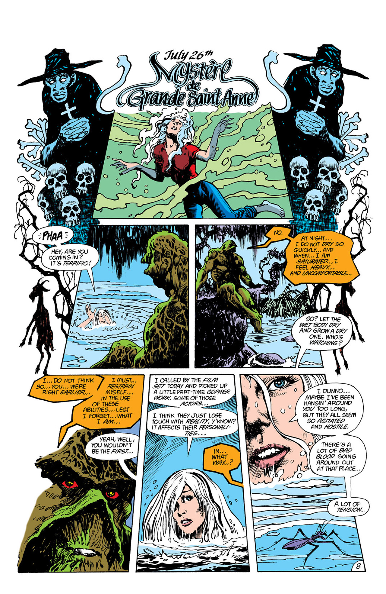 Swamp Thing (1982) Issue #41 #49 - English 25