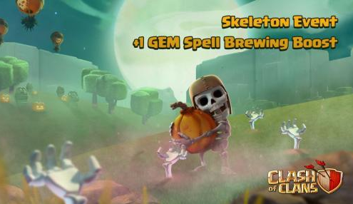 clash of clans update helloween