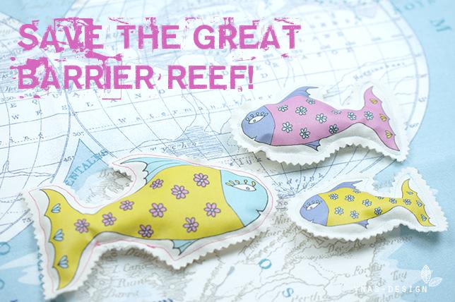 Ynas Design Blog Sos Great Barrier Reef Flower Fische Fur S Riff