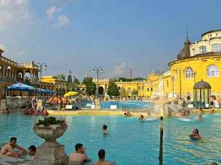 Szechenyi Baths City Park Budapest Hungary