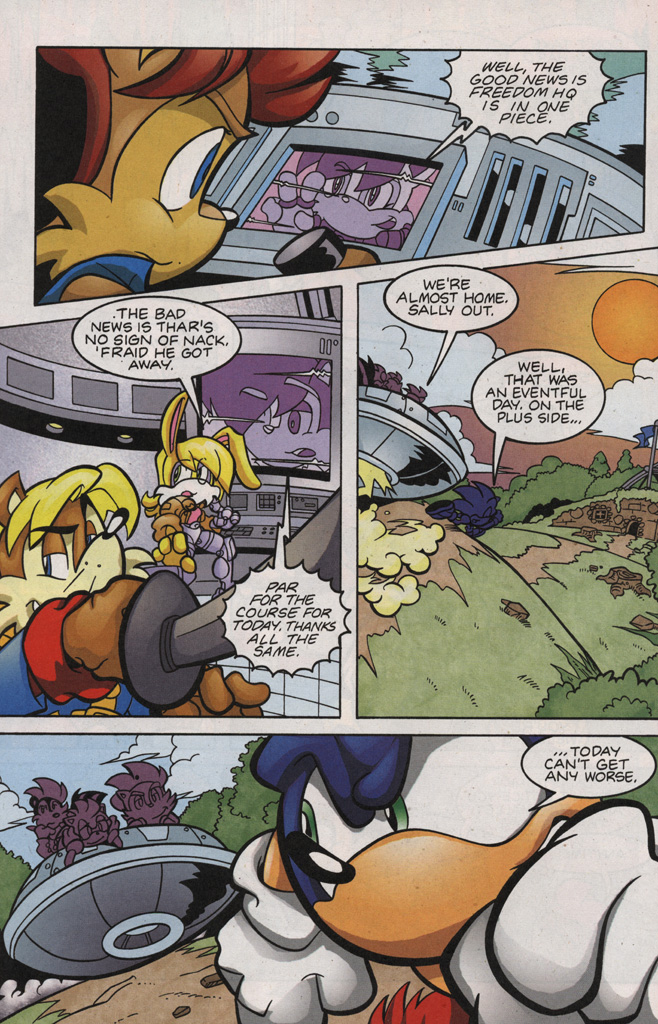 Read online Sonic The Hedgehog comic -  Issue #188 - 28
