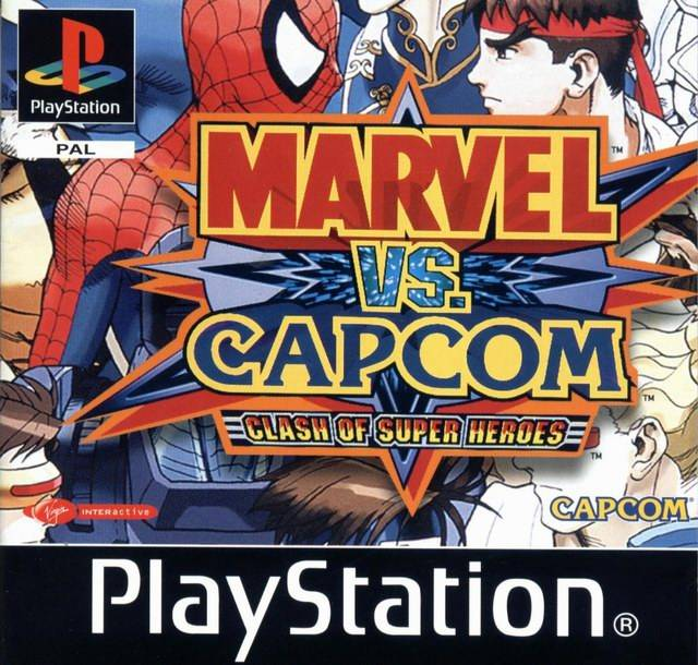 Marvel vs. Capcom - Portada