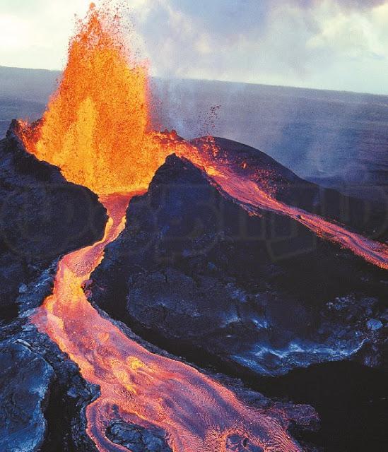 சீறும் எரிமலை