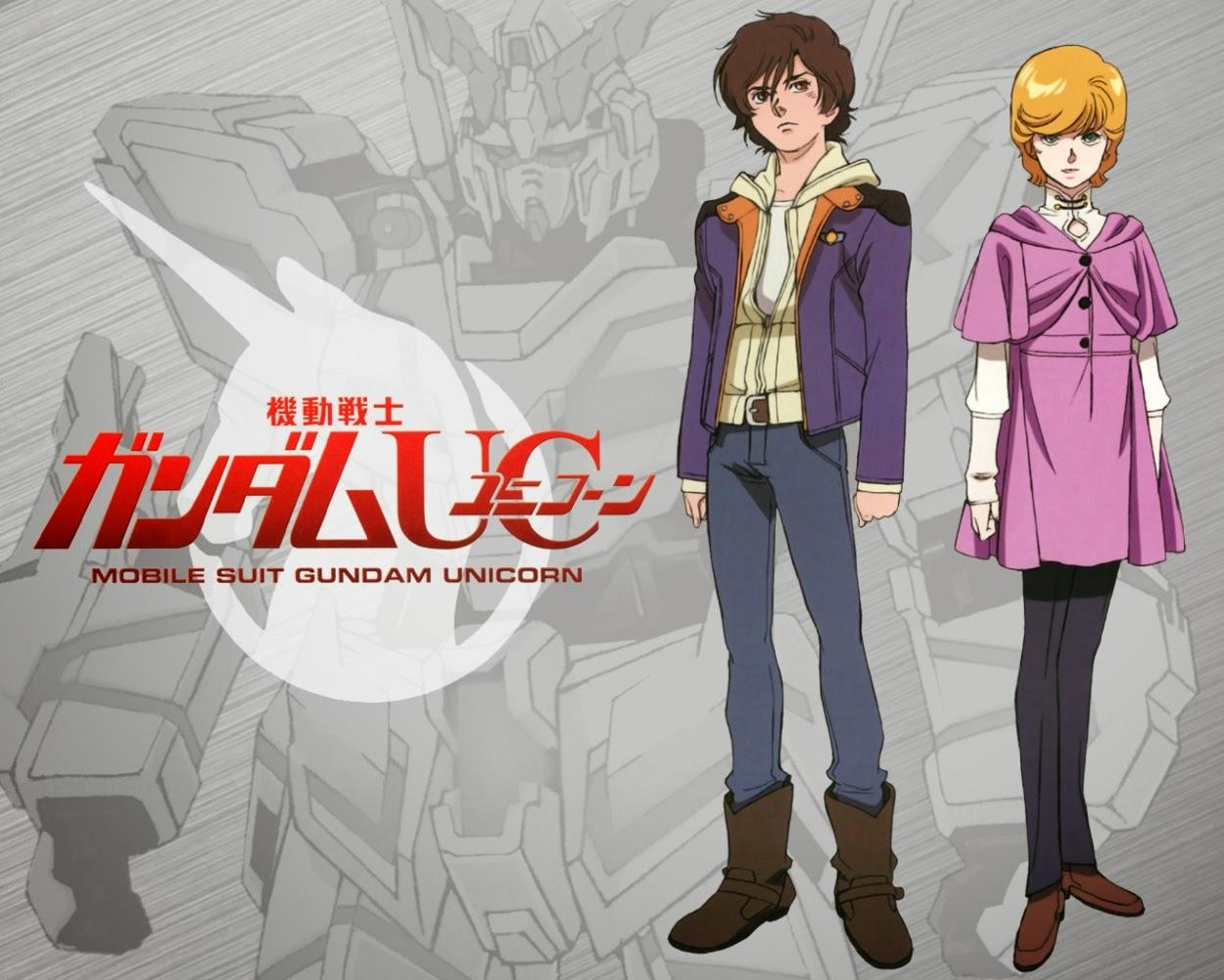 ReefTV: Anime Review : Mobile Suit Gundam Unicorn