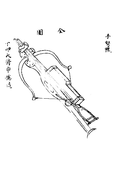 Unique weapon of the Ming Dynasty — Zhu Ge Nu (諸葛弩