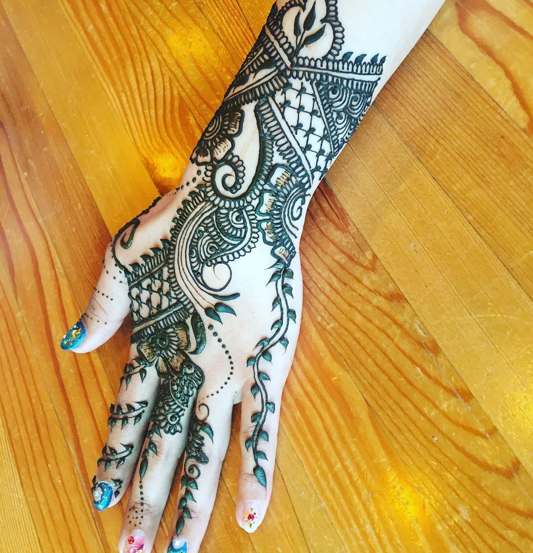 Mehndi Henna Mehndi Designs: 125+ New Simple Mehndi/Henna Designs For Hands