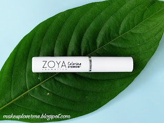 Zoya coloring eyebrow