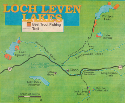 how to fish loch levin lakes, hunting fishing maps and reports oregon and california