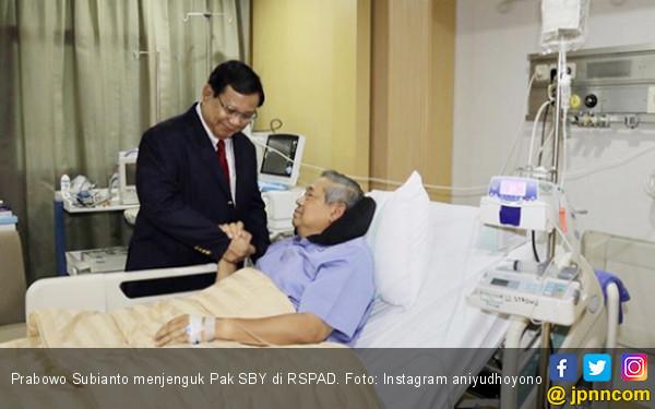 Adem Lihat Pak SBY dan Prabowo Bersama dalam Suka dan Duka