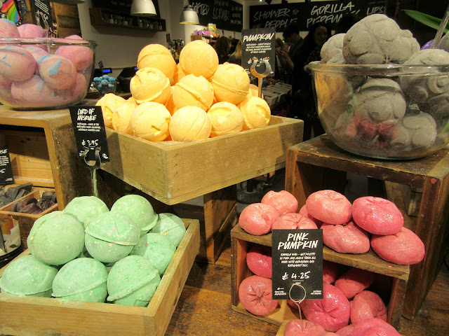lush seasonal, lush halloween products, lush liverpool